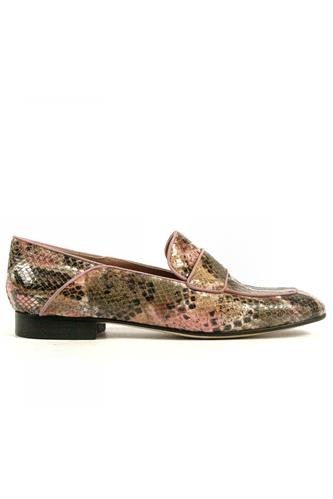 Teresa Python Ayers Pink Suede, CHEVILLE