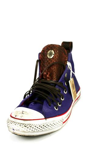 Vintage Sneakers Python Brown Purple, dioNisO
